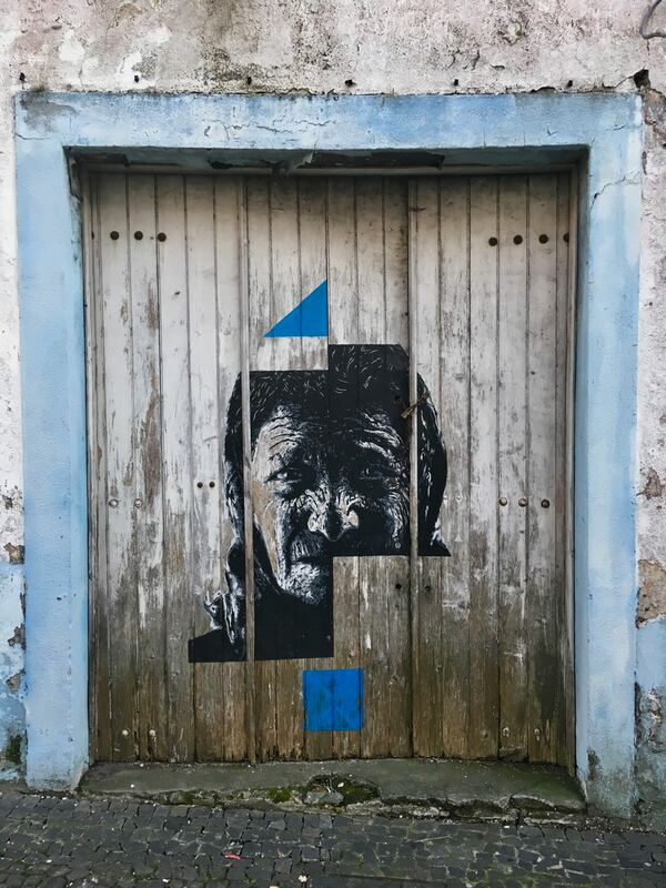 Street art in Ponta Delgada, Azores. Hungry Whales Cultural and Food Tours